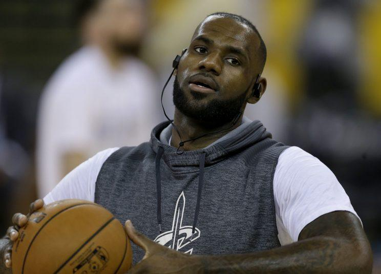 LeBron James wishes Cavs brass appreciated ex-GM David Griffin. (AP)