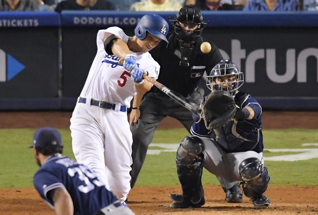 The Dodgers should get Corey Seager back for the World Series. (AP Photo/Mark J. Terrill)