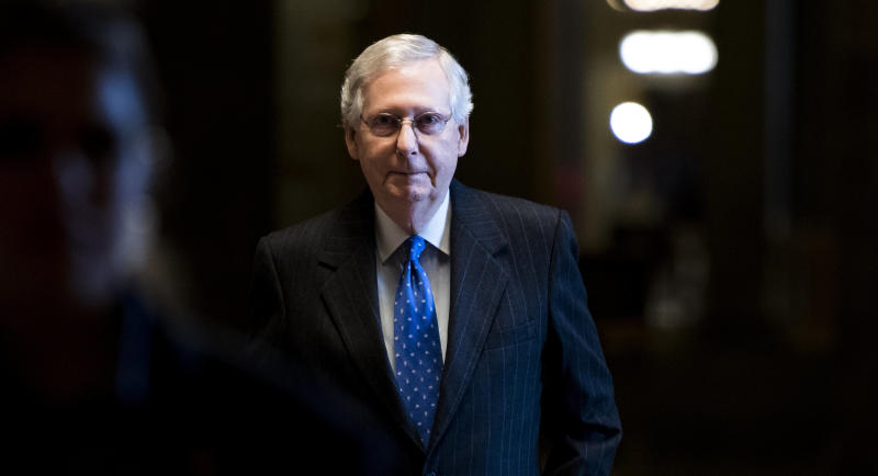Senate Majority Leader Mitch McConnell is ready for some serious winning when it comes to confirming judges.