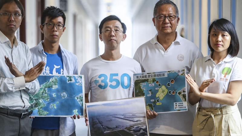 Proposed artificial island near Lantau in Hong Kong could suffer same fate as Jebi-hit Osaka airport, green groups warn