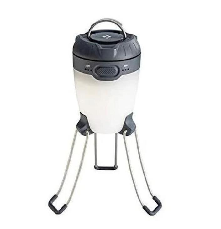 "Snyder recommends this Black Diamond Apollo Lantern. <a href=""https://fave.co/3afvQ5r"" rel=""nofollow noopener"" target=""_blank"" data-ylk=""slk:Rent it starting a $2/day at Arrive."" class=""link rapid-noclick-resp"">Rent it starting a $2/day at Arrive.</a>"