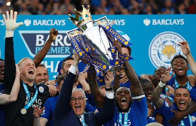 Leicester City's shock league triumph in 2016 has been described as one of sport's greatest fairytales (AFP Photo/ADRIAN DENNIS)