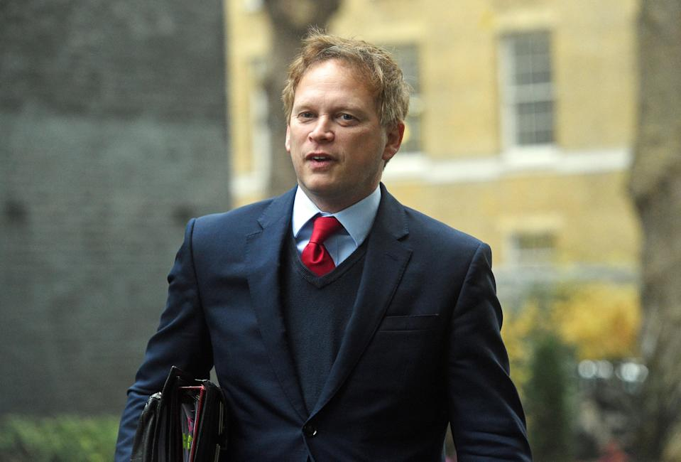 Transport Grant Shapps is set to conduct broadcast interviews on Wednesday (PA Wire)