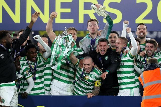 Celtic celebrate another trophy