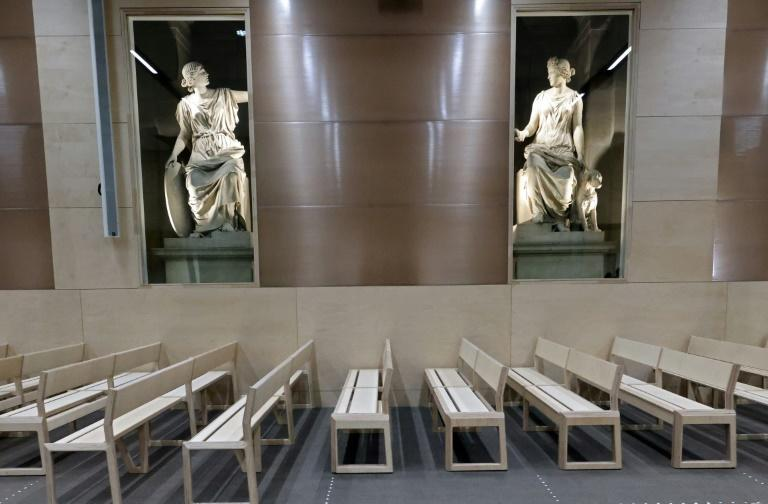 A purpose-built court will host what will be the biggest trial in France's modern legal history (AFP/Thomas COEX)