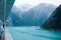 "The most popular way to visit is Alaska by cruise—which means, though there are many ships and outfitters that will get you there, there are plenty of other travelers hoping to do the same. The cruises themselves don't usually require booking twelve months out, but the tours—like on-land excursions through <a href=""https://www.cntraveler.com/story/it-took-visiting-the-wildest-of-places-to-overcome-my-fear-of-the-outdoors?mbid=synd_yahoo_rss"" rel=""nofollow noopener"" target=""_blank"" data-ylk=""slk:Denali National Park's"" class=""link rapid-noclick-resp"">Denali National Park's</a> pristine wilderness, or smaller boat jaunts to witness glaciers up close and personal—do sell out far earlier, says <a href=""https://www.cntraveler.com/contributor/linda-allen-speer?mbid=synd_yahoo_rss"" rel=""nofollow noopener"" target=""_blank"" data-ylk=""slk:Linda Allen-Spear"" class=""link rapid-noclick-resp"">Linda Allen-Spear</a> of Cruises By Linda. She also cautions that the best cabins (""the low midship location is the most stable"" for anyone concerned about getting seasick) also go quickly."