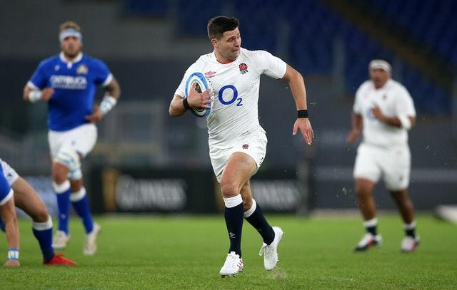 England defeated Italy in Rome en route to claiming the Six Nations title