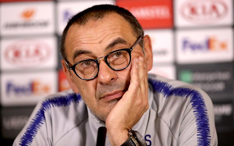 Sarri says his season should not boil down to next Wednesday's Europa League final - PA