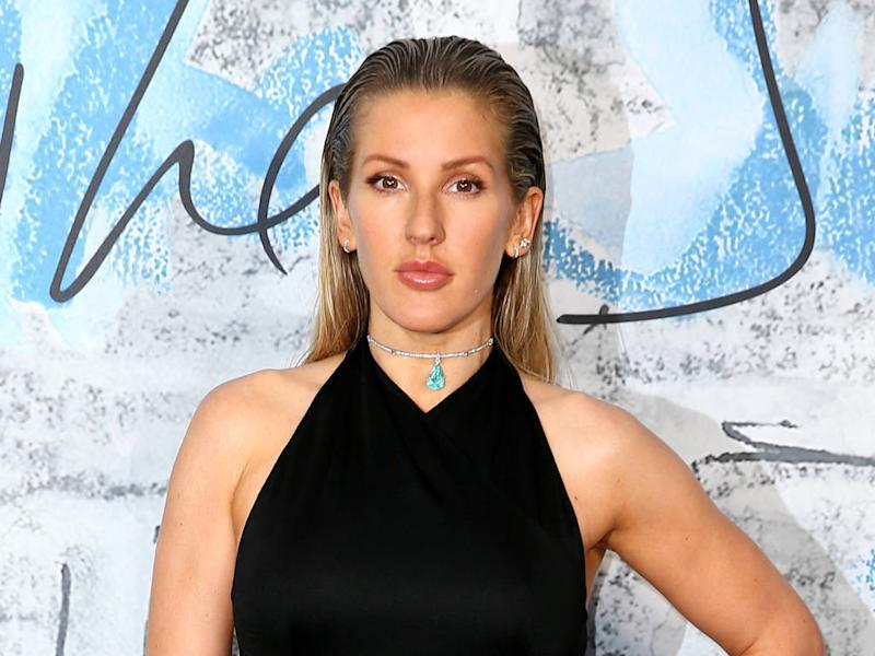 Ellie Goulding's make-up artist wanted to create natural bridal look