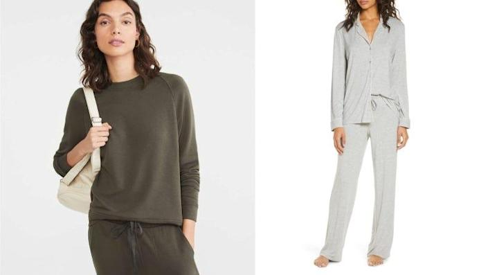 Best gifts for girlfriends: Loungewear and pajamas