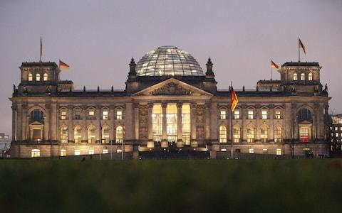 The German Bundestag, the national parliament of the Federal Republic of Germany. - Credit: Reuters