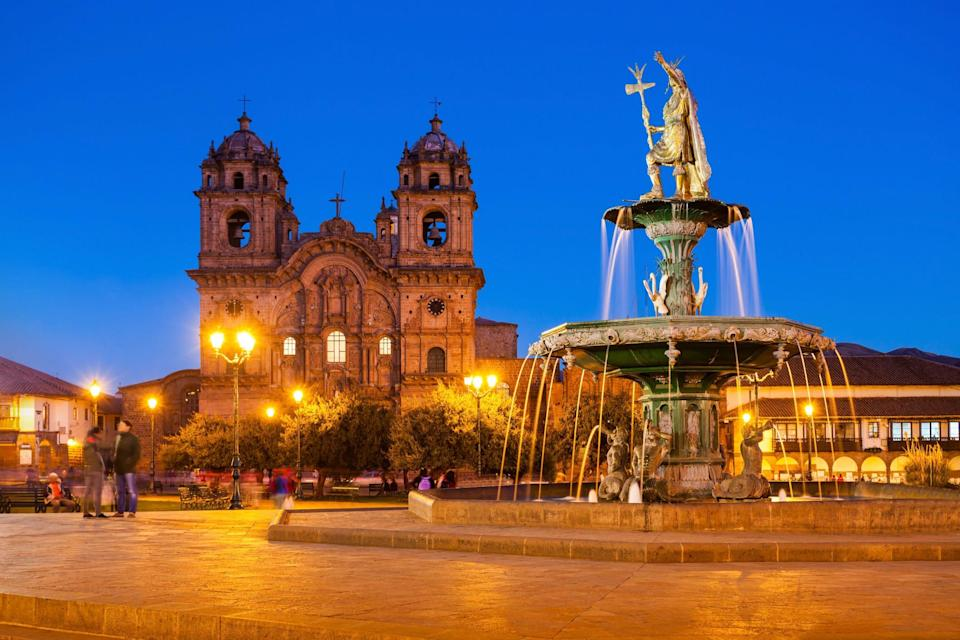 Visitors must complete an electronic health statement and offer a negative coronavirus test to enter Peru.