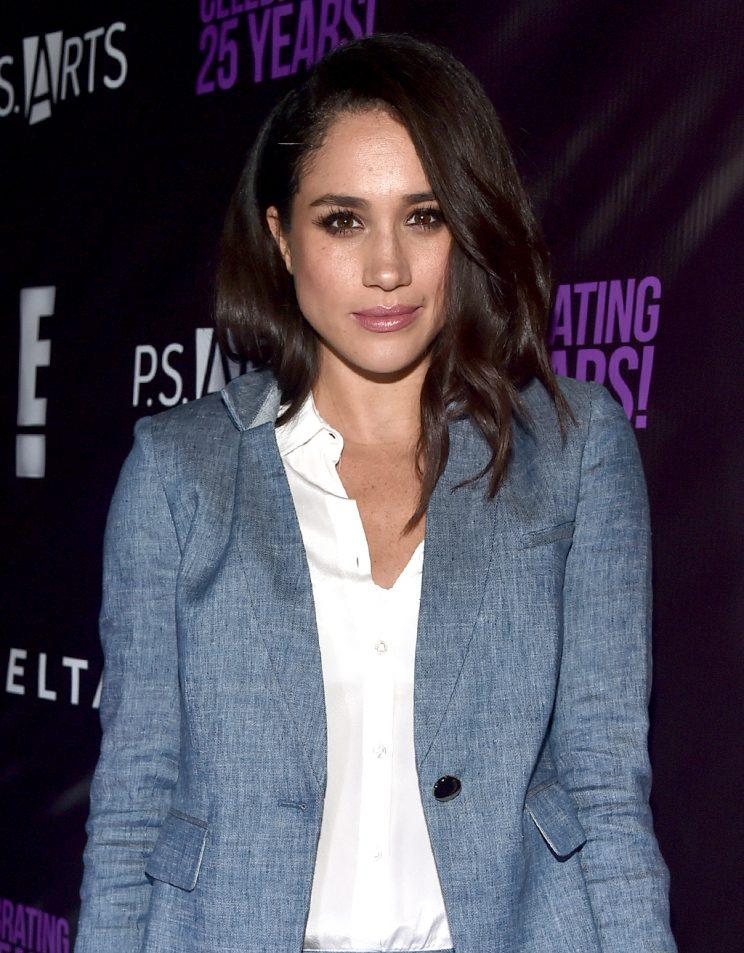 Meghan Markle, pictured in May 2016, is done trying to be like Gwyneth Paltrow. (Photo: Alberto E. Rodriguez/Getty Images)