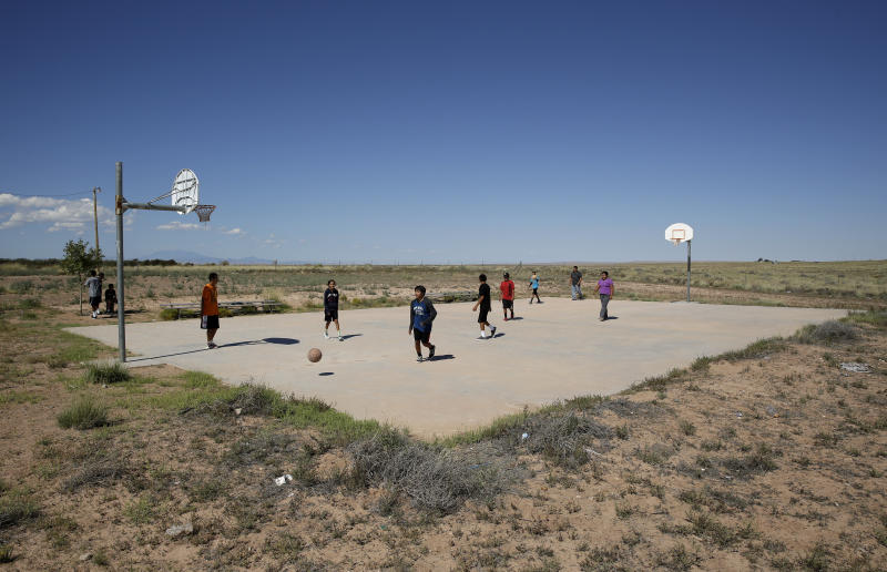 As Native Americans fight virus, basketball takes a timeout
