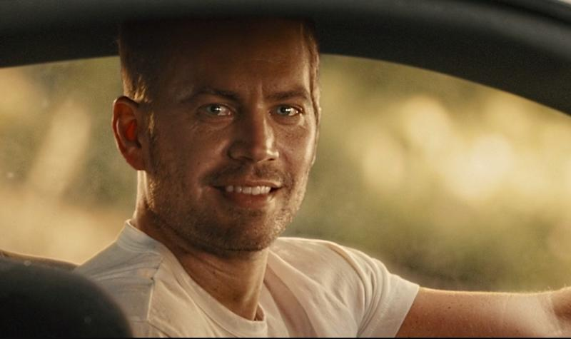 Paul Walker in the emotional conclusion of Furious 7 (Image by Universal)