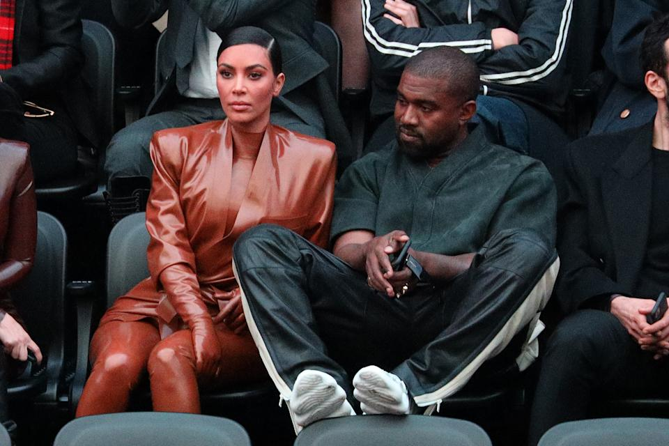 One of Kim Kardashian and Kanye West's last public appearances was at the Balenciaga show as part of the Paris Fashion Week on March 01, 2020.