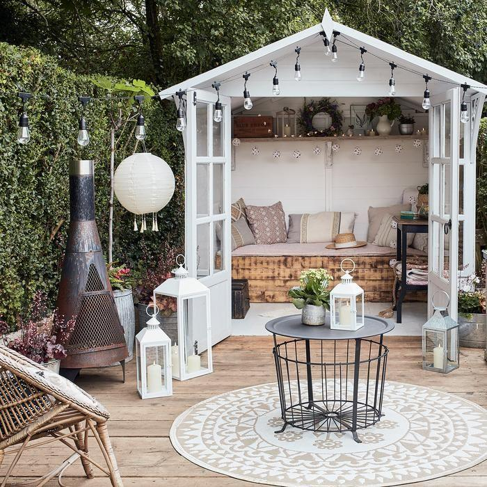 "<p>Summer evenings may stretch out far longer than winter ones, but sometimes they're still not quite long enough. When the sun finally sets but you're not quite done eating, drinking and laughing in the garden, then some great outdoor lighting is a must. </p><p>Garden lanterns are the easiest way to bring life to your outside space at night – an affordable and low-maintenance solution, with plenty of options available to suit every garden, terrace or balcony. </p><p>Add garden lanterns into the mix alongside your <a href=""https://www.goodhousekeeping.com/uk/house-and-home/g31777752/garden-bistro-sets/"" target=""_blank"">bistro sets</a>, <a href=""https://www.goodhousekeeping.com/uk/house-and-home/g32811240/outdoor-rugs-uk/"" target=""_blank"">outdoor rugs</a> and <a href=""https://www.goodhousekeeping.com/uk/house-and-home/g32376314/garden-accessories/"" target=""_blank"">garden accessories</a> to help create the feeling of a relaxed outdoor living area that you can enjoy all summer long. </p><p>Here, we have rounded up the best garden lanterns available to order now. Many of our picks are waterproof and all are suitable for outdoor use. Choose from solar powered to LED lights, or opt for a traditional candlelit storm lanterns. </p><p>With  options ranging from sleek stainless steel designs to beautifully patterned lanterns that cast intricate shadows across the ground, there's something here for every garden and every budget...</p>"
