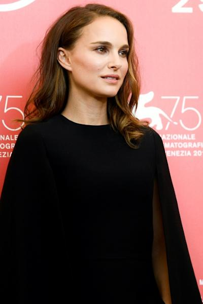 """Oscar-winner Natalie Portman Portman plays a singer who is badly wounded in a bloodbath at her school in """"Vox Lux"""", presented in competition at the Venice Film Festival"""