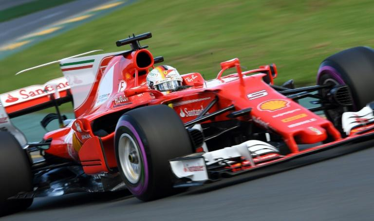 Ferrari's Sebastian Vettel came out second in qualifying behind Lewis Hamilton at the Australian Grand Prix