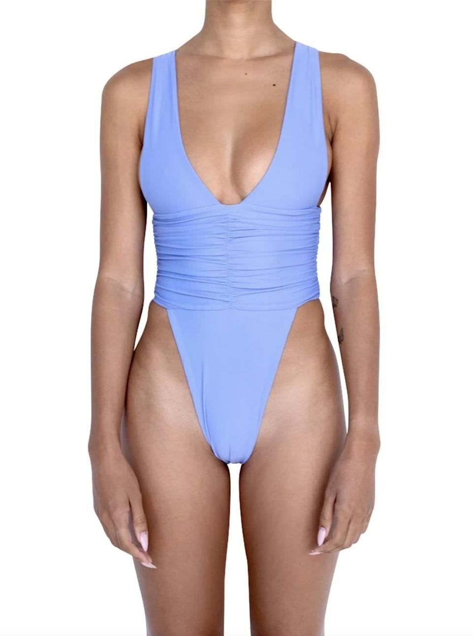 <p>We're kind of obsessed with this <span>Riot Swim Echo One Piece-Lavender</span> ($96). You can also style it as a bodysuit.</p>