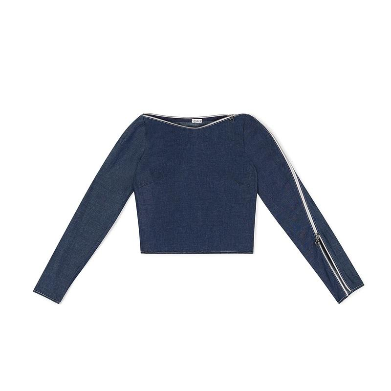 """<a rel=""""nofollow"""" href=""""https://www.ohlin-d.com/products/denim-asymmetrical-zip-top"""">Denim Asymmetrical Zip Top, ÖHLIN/D, $350<p>This fashion-forward brand recycles 75% of garment scraps, and upcycles 80% of their leftover fabric rolls. They also use alpaca and pima cotton from naturally irrigated cottonfields.</p> </a><p>     <strong>Related Articles</strong>     <ul>         <li><a rel=""""nofollow"""" href=""""http://thezoereport.com/fashion/style-tips/box-of-style-ways-to-wear-cape-trend/?utm_source=yahoo&utm_medium=syndication"""">The Key Styling Piece Your Wardrobe Needs</a></li><li><a rel=""""nofollow"""" href=""""http://thezoereport.com/entertainment/red-carpet/sarah-jessica-parker-twins-red-carpet/?utm_source=yahoo&utm_medium=syndication"""">Sarah Jessica Parker's Twins Are Already Crushing The Fashion Game</a></li><li><a rel=""""nofollow"""" href=""""http://thezoereport.com/entertainment/celebrities/jennifer-lopez-leather-outfit/?utm_source=yahoo&utm_medium=syndication"""">Jennifer Lopez Proves That The Only Style Rules To Follow Are Your Own</a></li>    </ul> </p>"""