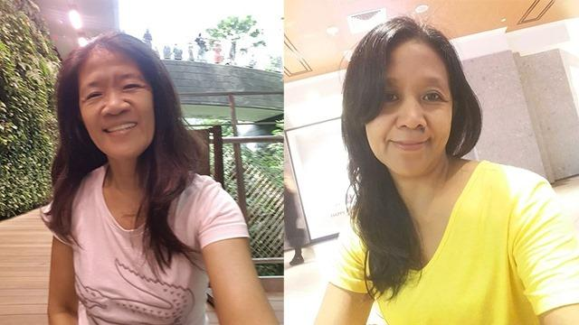 Sisters and domestic helpers Arcely (L) and Arlyn Nucos were among the six victims of a car crash at Lucky Plaza on Sunday, 29 December 2019. Arlyn died after being conveyed to Tan Tock Seng Hospital while Arcely remains in critical condition. PHOTO: Albert Picar Dela Cruz Facebook page