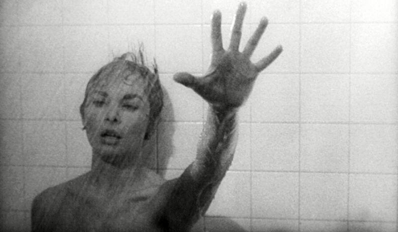 Janet Leigh as Marion Crane in Alfred Hitchcock's horror classic 'Psycho'. (Credit: Paramount)