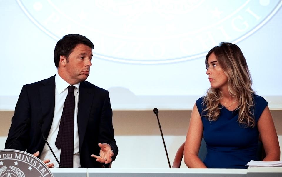 Inchiesta Open, indagati Renzi e Boschi: le accuse (REUTERS/Max Rossi/File Photo)