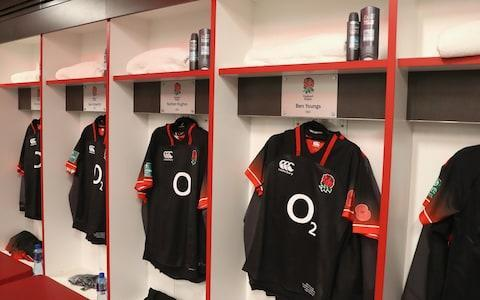<span>England's new alternate strip</span> <span>Credit: RFU </span>