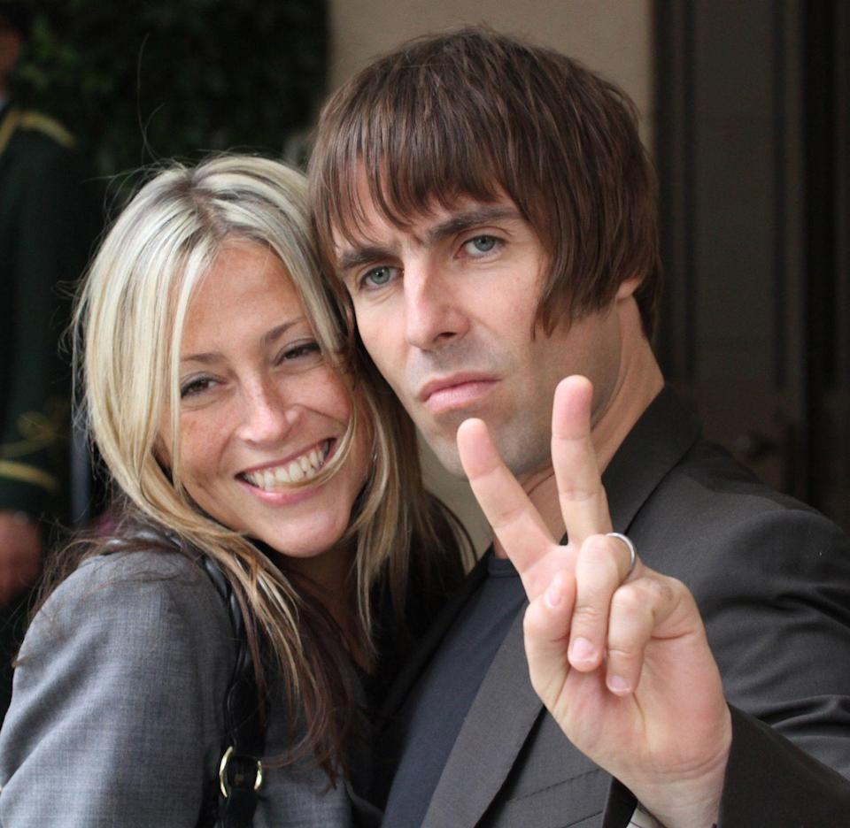 <p>Liam and Nicole Appleton arriving at their hotel on July 17, 2010 in London.</p>