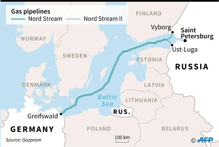 The Nord Stream gas pipelines are controversial as they give Russia more leverage to route supplies around eastern European nations