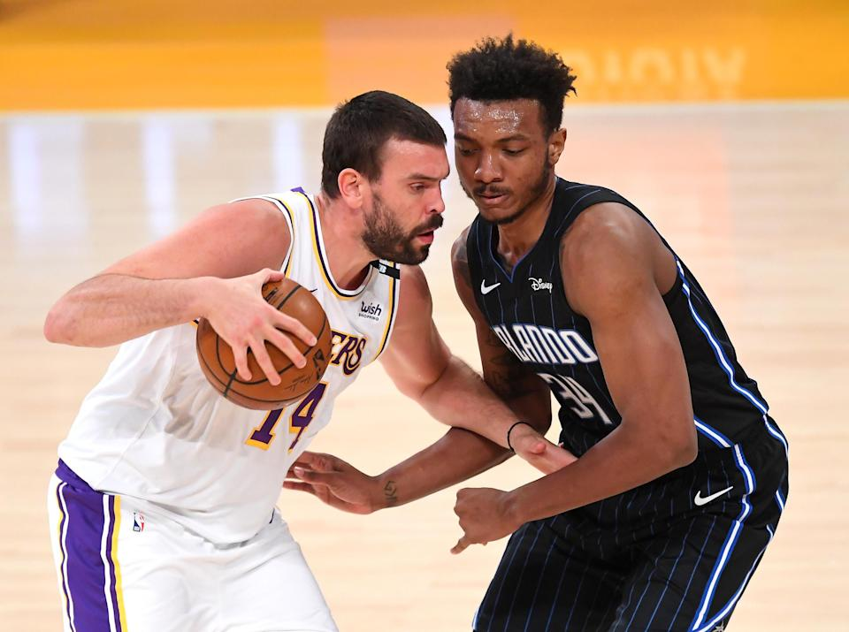 Marc Gasol and Wendell Carter