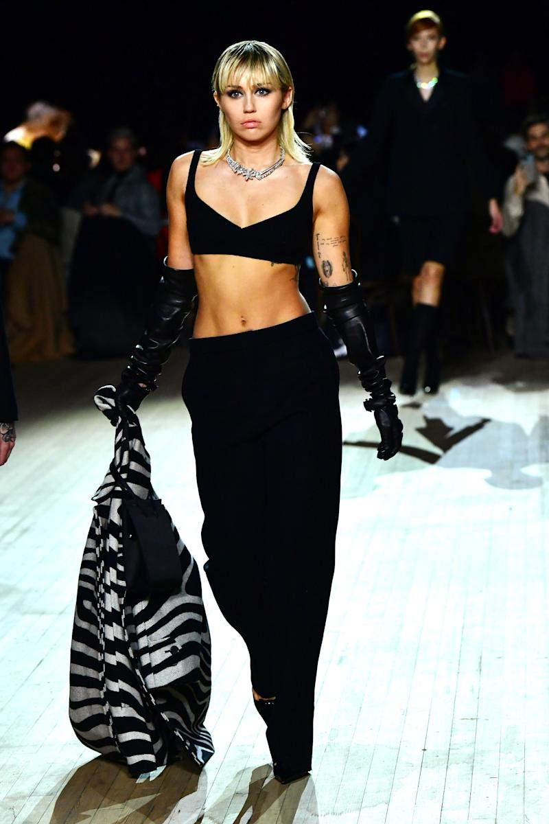 Miley Cyrus Made a Surprise Appearance at Marc Jacobs's NYFW Show