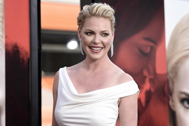 Katherine Heigl, pictured in 2017, has been criticized by online commenters. (Photo: Richard Shotwell/AFP/Getty Images)