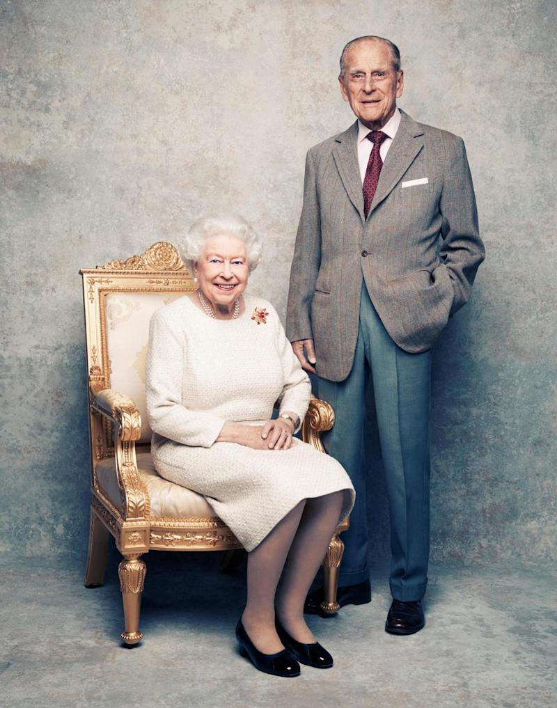 Anniversary: The Queen and Prince Philip (REUTERS)