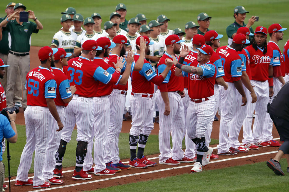 Finishing the season with 17 games in 17 days will be no easy task for the Phillies. (AP)