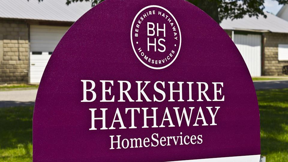Lafayette, IN - Circa July 2016: Berkshire Hathaway HomeServices Sign.