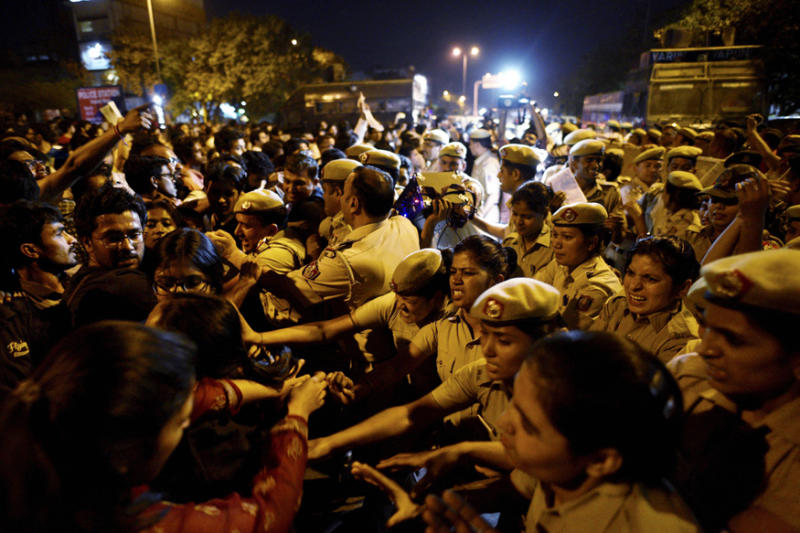 FIR Lodged 4 Days After Journo 'Molested' by Cops at JNU Protest, Accused Column Left Blank