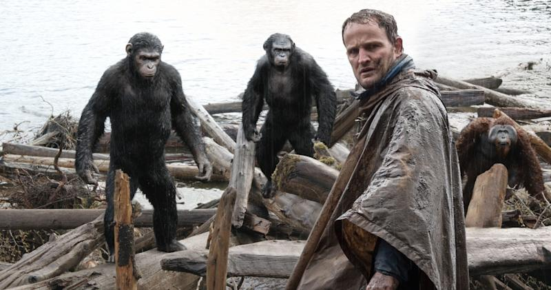 Jason Clarke starred in Matt Reeves' previous Apes movie, 'Dawn of the Planet of the Apes' (20th Century Fox)