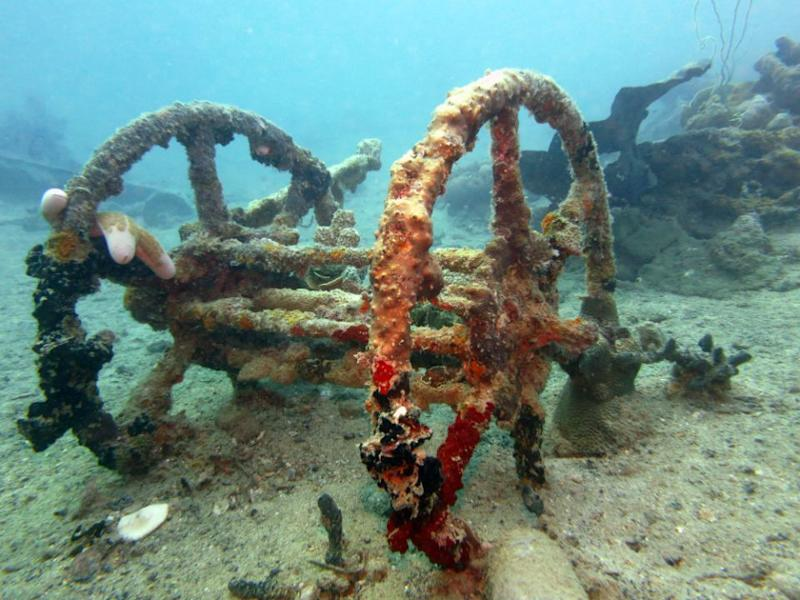 This is the winding frame pictured at Ghuvatu Wharf. Source: Dive Planit