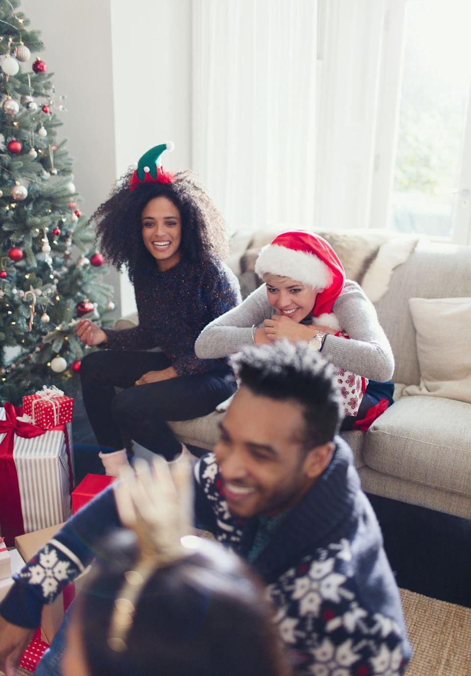"""<p>Everyone's heard of this classic party game! However, this one is not only Christmas-inspired, but it's also adults-only too.</p><p><strong>Get the tutorial at <a href=""""https://www.backyard.games/holiday-games/hilarious-would-you-rather/"""" rel=""""nofollow noopener"""" target=""""_blank"""" data-ylk=""""slk:Backyard Games"""" class=""""link rapid-noclick-resp"""">Backyard Games</a>.</strong></p>"""