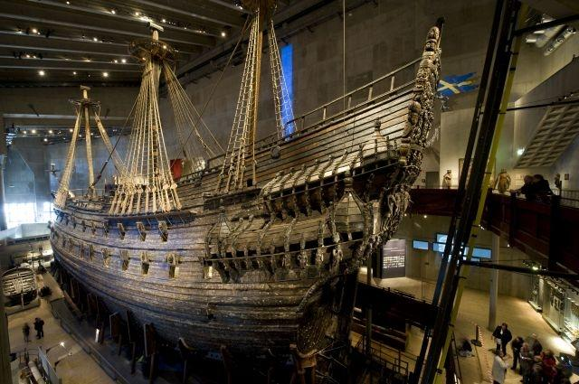 Centuries old warships linked to 'Vasa' found in Sweden