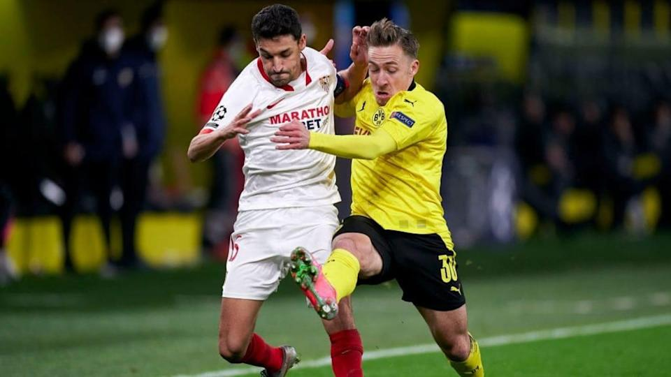 Borussia Dortmund v Sevilla FC - UEFA Champions League Round Of 16 Leg Two | Quality Sport Images/Getty Images
