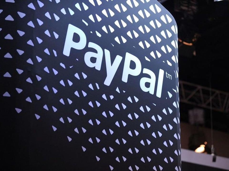 PayPal opened its crypto services to UK customers on 23 August 2021, allowing them buy, sell and store bitcoin and other cryptocurrencies (AFP via Getty Images)