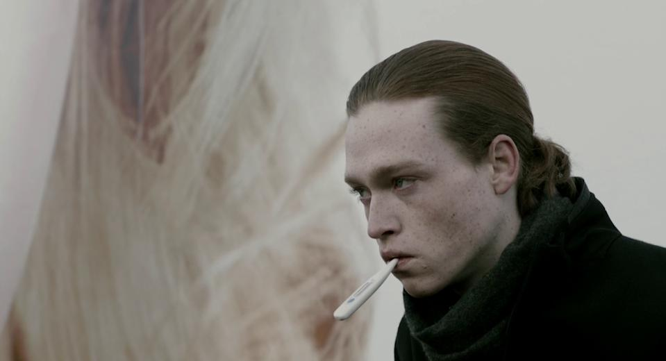 Caleb Landry Jones as Syd in Antiviral (credit: Alliance Films)
