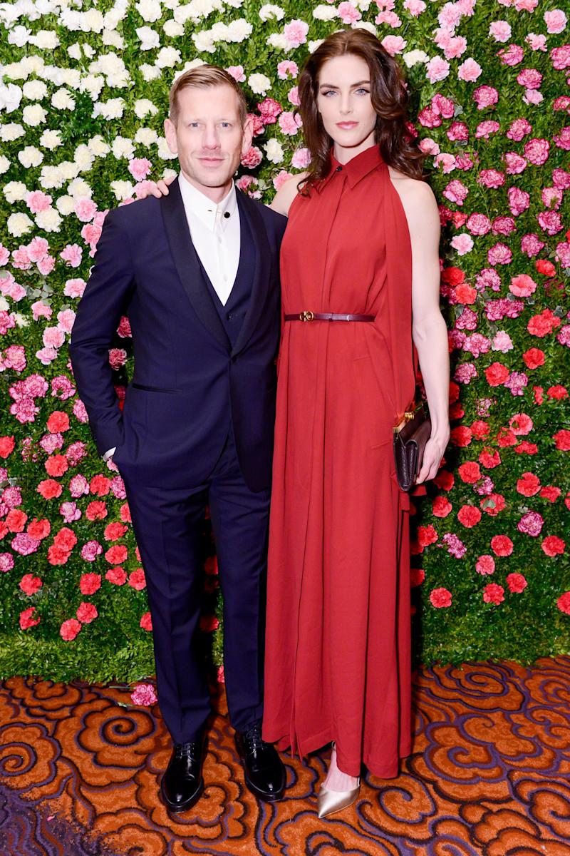 Paul Andrew and Hilary Rhoda attend the New Yorker's for Children gala.