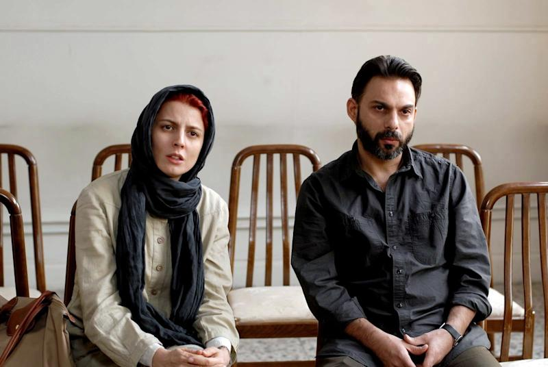 Leila Hatami and Payman Maadi in A Separation.