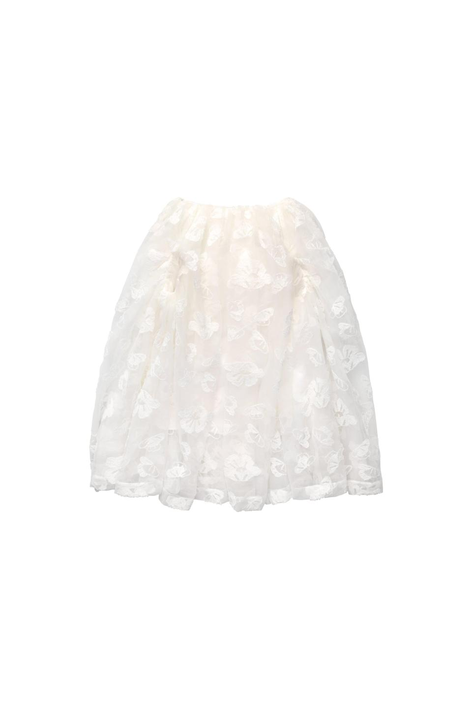 <p><span>Simone Rocha x H&amp;M Tinsel-Embroidered Puff Skirt</span> ($299).</p>