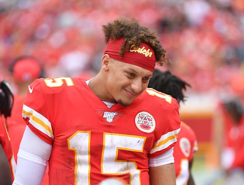 The NFL has never seen the likes of Patrick Mahomes. (Getty)