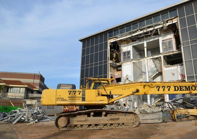 The demolition of the old IMAX building in Bournemouth back in 2013. (Photo: Thomas Faull via Getty Images)